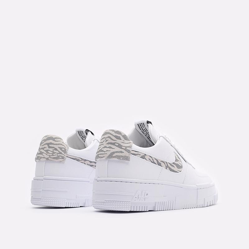 женские белые кроссовки Nike WMNS Air Force 1 Pixel SE DH9632-100 - цена, описание, фото 3