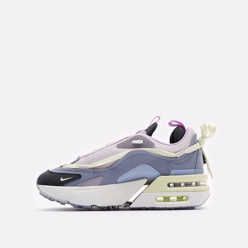 женские разноцветные кроссовки Nike WMNS Air Max Furyosa CZ4149-400 - цена, описание, фото 2