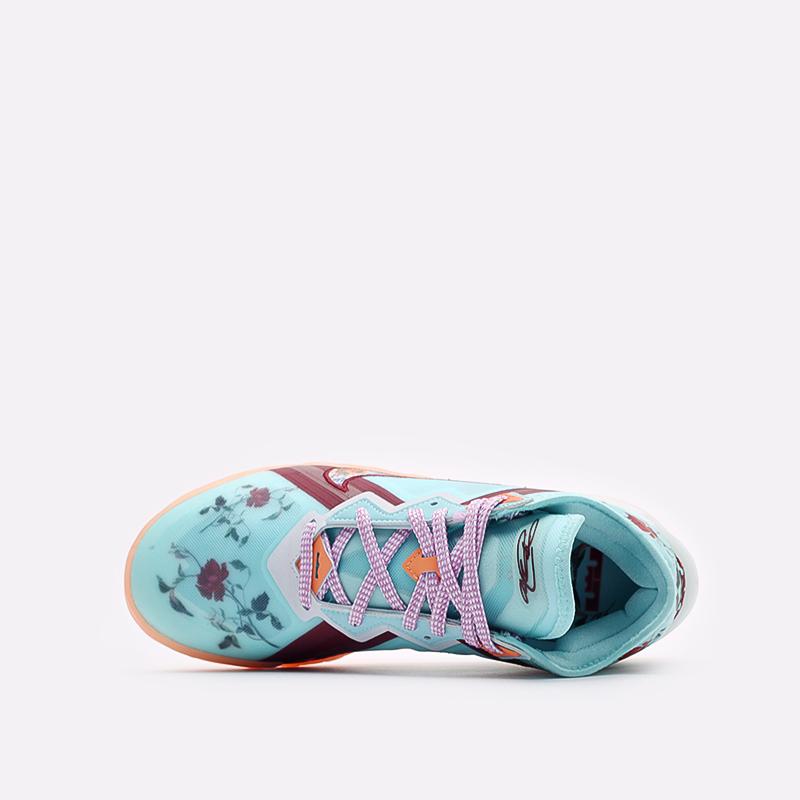 мужские голубые баскетбольные кроссовки Nike Lebron XVIII Low CV7562-400 - цена, описание, фото 6