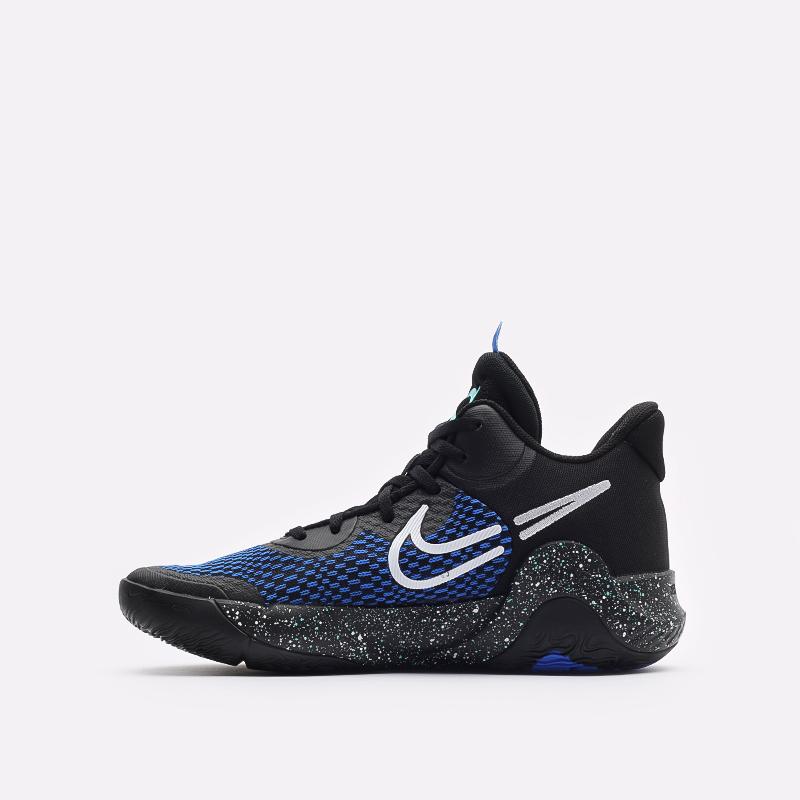 мужские черные баскетбольные кроссовки Nike KD Trey 5 IX CW3400-007 - цена, описание, фото 2