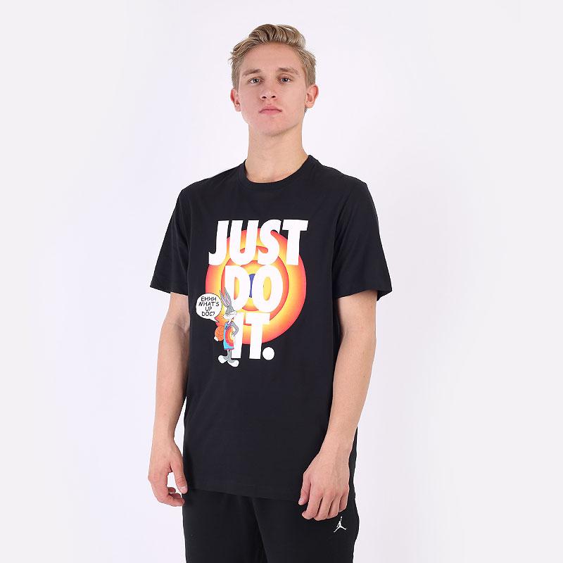 мужская черная футболка Jordan Space Jam A New Legacy Basketball T-Shirt DH3829-010 - цена, описание, фото 1