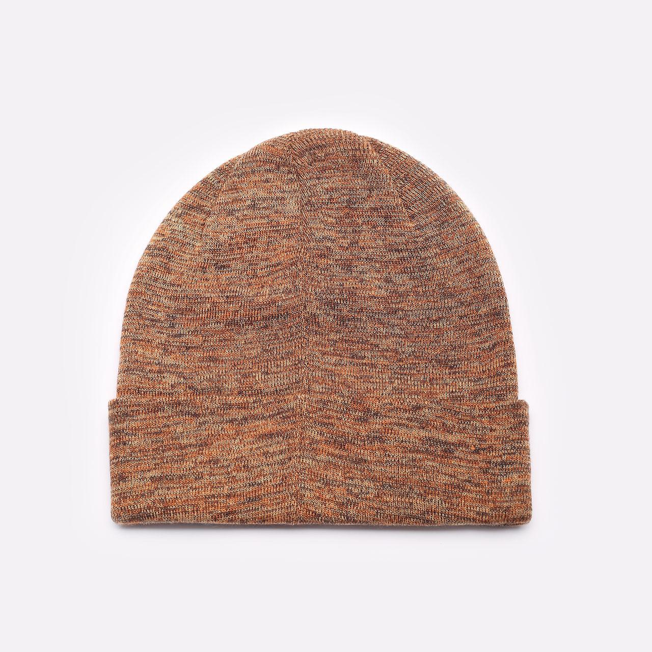 коричневая шапка Jordan Beanie Cuffed Jumpman DJ6048-246 - цена, описание, фото 3