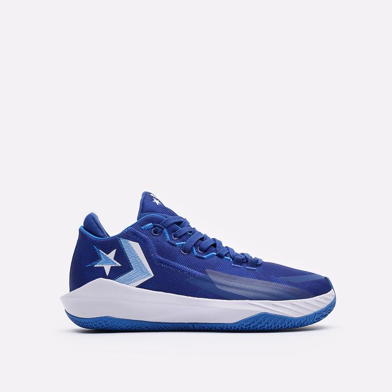 мужские синие баскетбольные кроссовки Converse All Star BB Jet Mid 171700 - цена, описание, фото 1