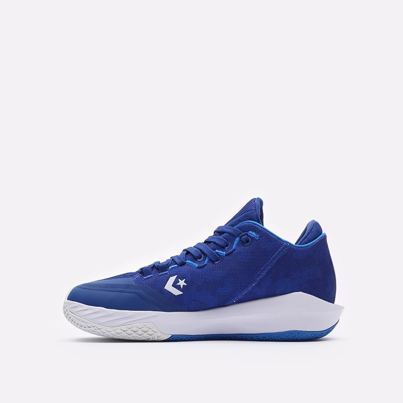 мужские синие баскетбольные кроссовки Converse All Star BB Jet Mid 171700 - цена, описание, фото 2