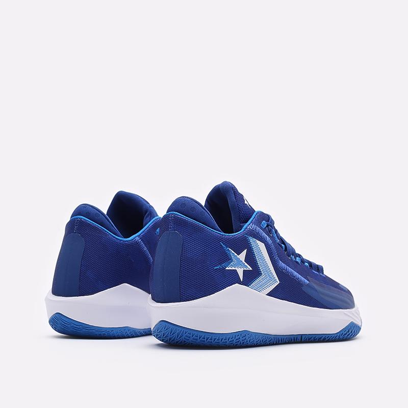 мужские синие баскетбольные кроссовки Converse All Star BB Jet Mid 171700 - цена, описание, фото 3
