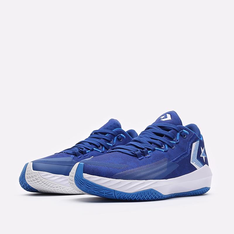 мужские синие баскетбольные кроссовки Converse All Star BB Jet Mid 171700 - цена, описание, фото 4