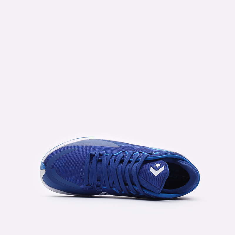 мужские синие баскетбольные кроссовки Converse All Star BB Jet Mid 171700 - цена, описание, фото 6