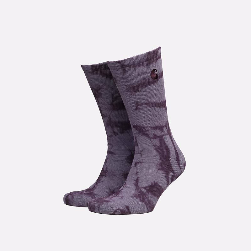 фиолетовые носки Carhartt WIP Vista Socks I029568-dark iris - цена, описание, фото 1