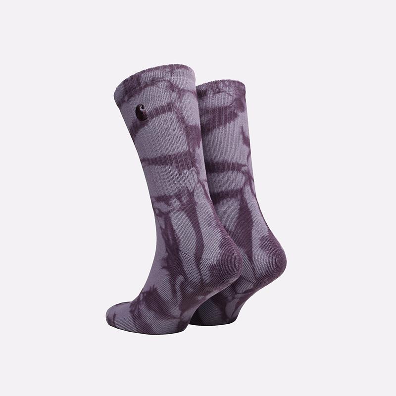 фиолетовые носки Carhartt WIP Vista Socks I029568-dark iris - цена, описание, фото 2