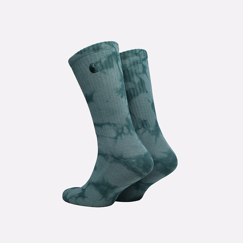 мужские зеленые носки Carhartt WIP Vista Socks I029568-frsr/eucaltypus - цена, описание, фото 2