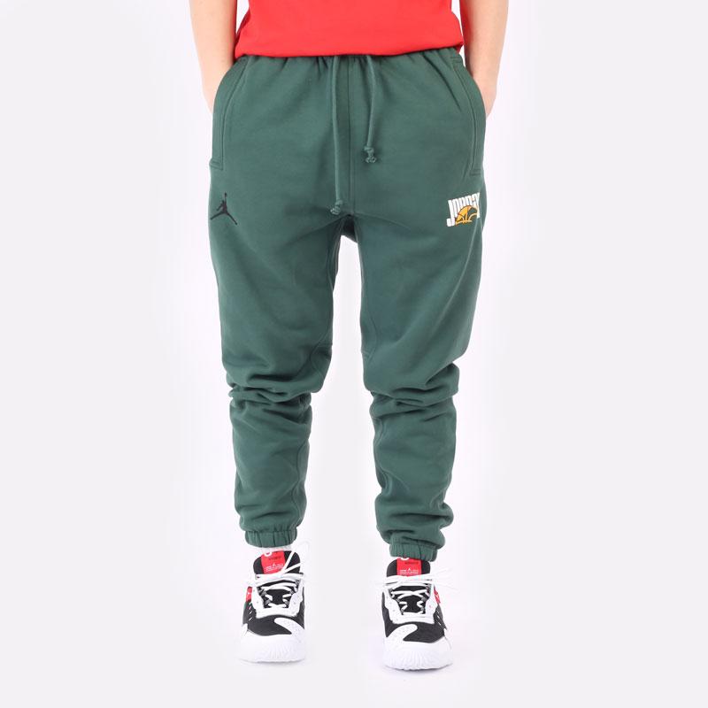 мужские зеленые брюки Jordan Sport DNA Pant DC9635-333 - цена, описание, фото 5