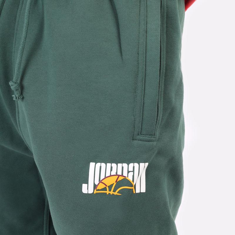 мужские зеленые брюки Jordan Sport DNA Pant DC9635-333 - цена, описание, фото 2