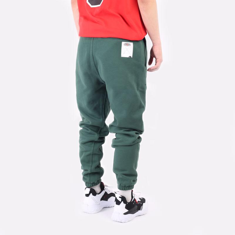 мужские зеленые брюки Jordan Sport DNA Pant DC9635-333 - цена, описание, фото 3