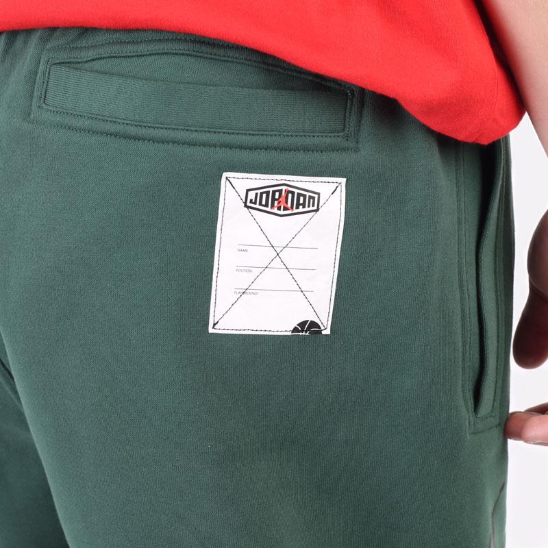 мужские зеленые брюки Jordan Sport DNA Pant DC9635-333 - цена, описание, фото 4