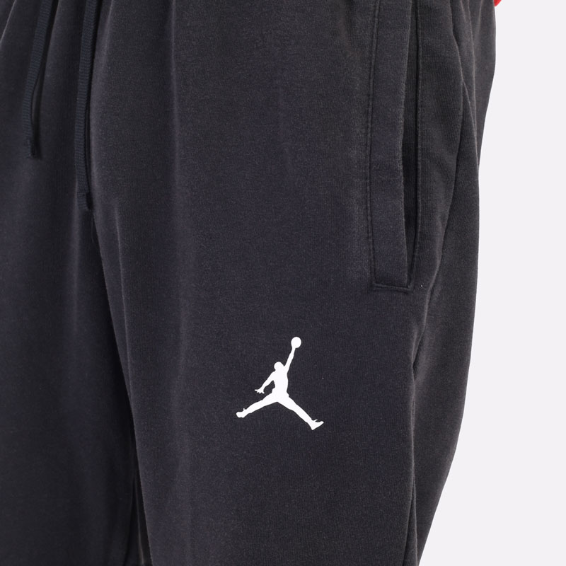 мужские черные брюки Jordan Dri-Fit Air Fleece Pants DA9858-010 - цена, описание, фото 2