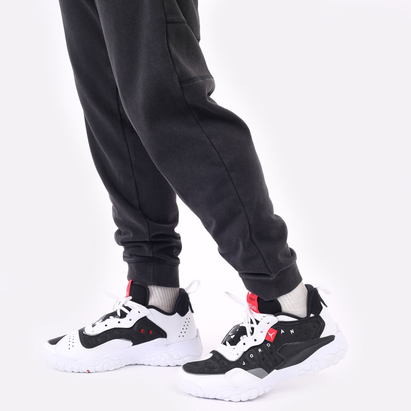 мужские черные брюки Jordan Dri-Fit Air Fleece Pants DA9858-010 - цена, описание, фото 3