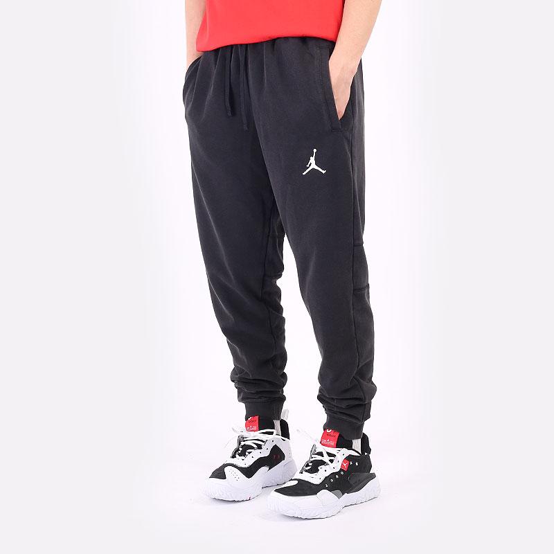 мужские черные брюки Jordan Dri-Fit Air Fleece Pants DA9858-010 - цена, описание, фото 1