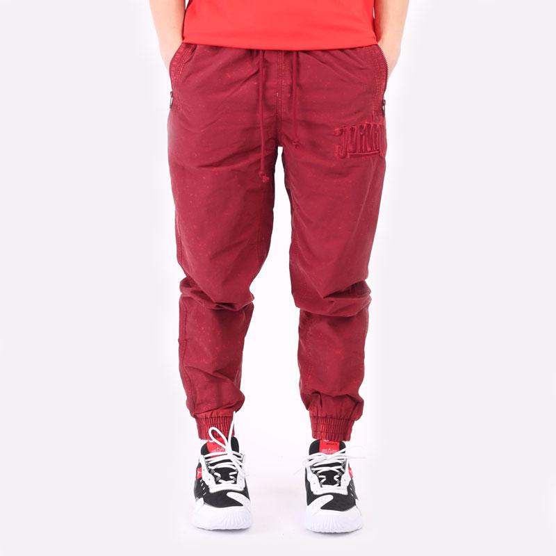 мужские бордовые брюки Jordan DNA Woven Pant DA7241-677 - цена, описание, фото 7