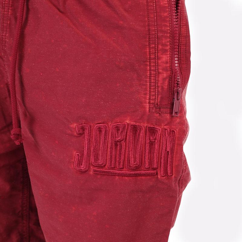 мужские бордовые брюки Jordan DNA Woven Pant DA7241-677 - цена, описание, фото 2