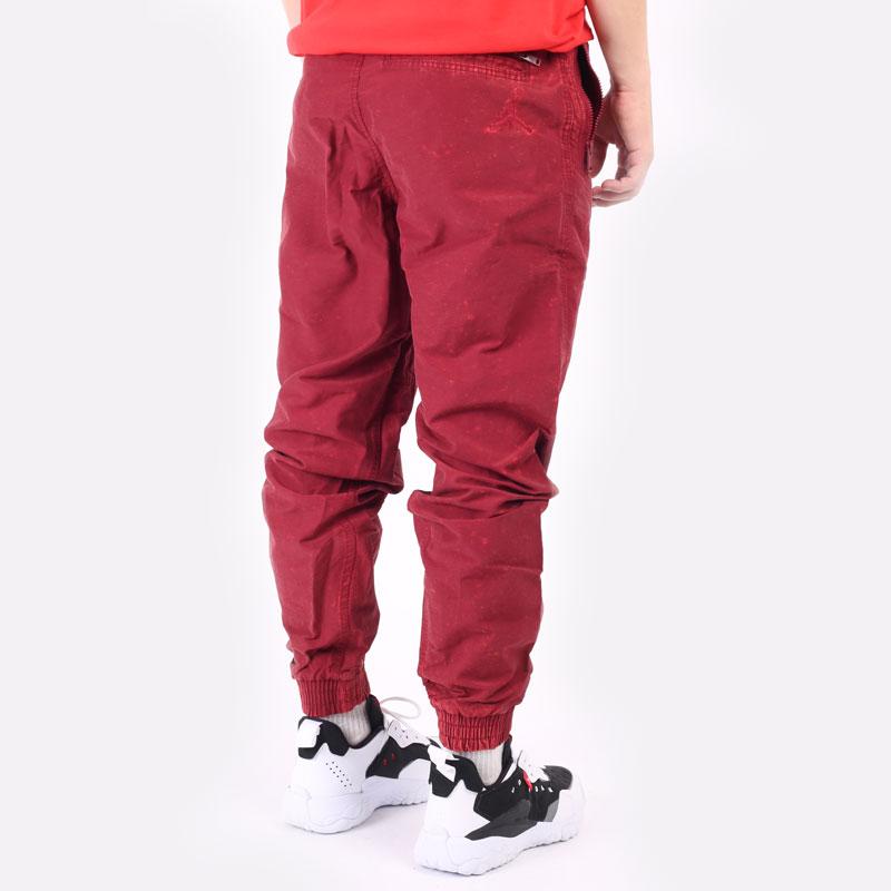 мужские бордовые брюки Jordan DNA Woven Pant DA7241-677 - цена, описание, фото 5