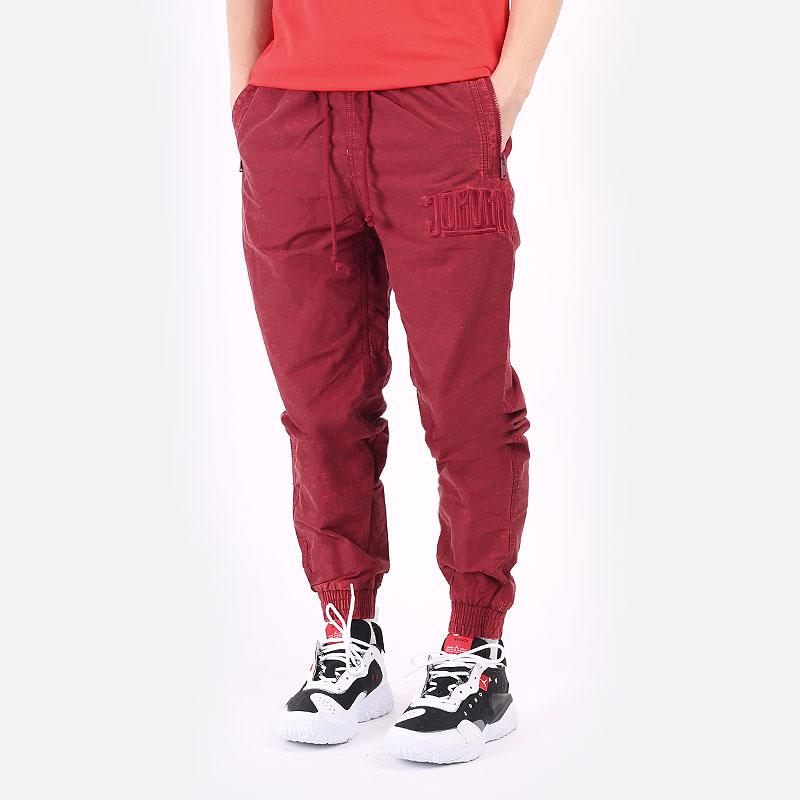 мужские бордовые брюки Jordan DNA Woven Pant DA7241-677 - цена, описание, фото 1