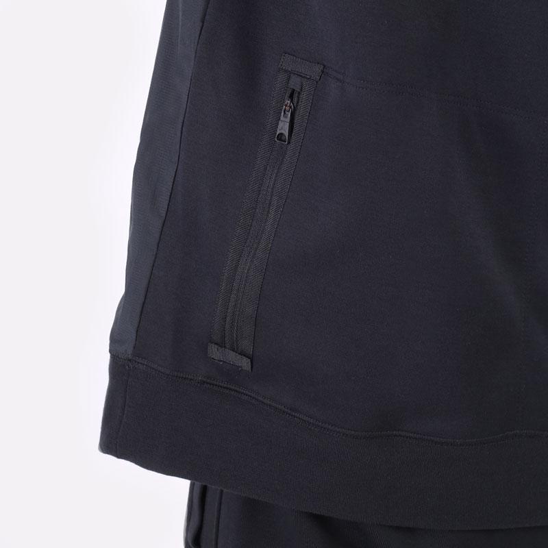 мужская черная толстовка Jordan Dri-FIT Air Statement Fleece Pullover Hoodie DA9849-010 - цена, описание, фото 4