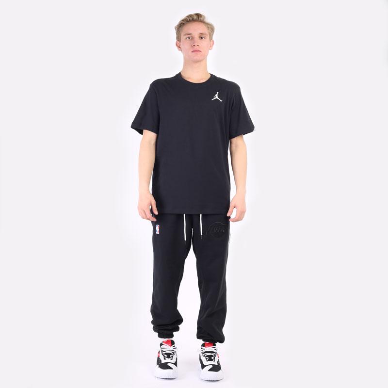 мужская черная футболка Jordan Jumpman Short-Sleeve T-Shirt DC7485-010 - цена, описание, фото 5