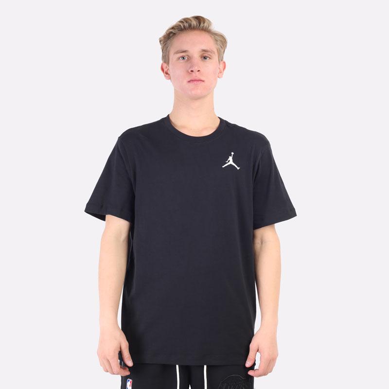 мужская черная футболка Jordan Jumpman Short-Sleeve T-Shirt DC7485-010 - цена, описание, фото 4