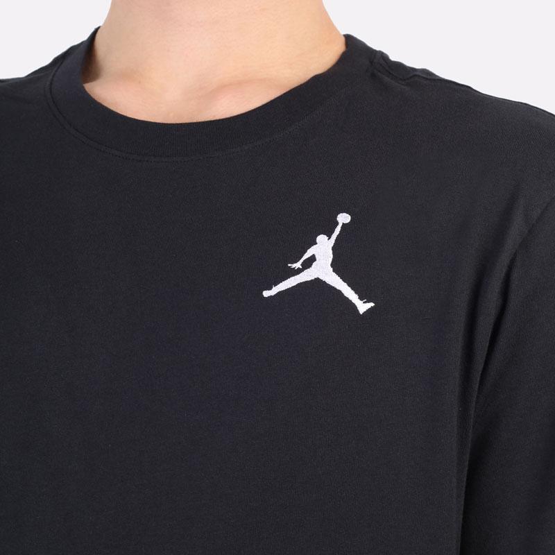мужская черная футболка Jordan Jumpman Short-Sleeve T-Shirt DC7485-010 - цена, описание, фото 2