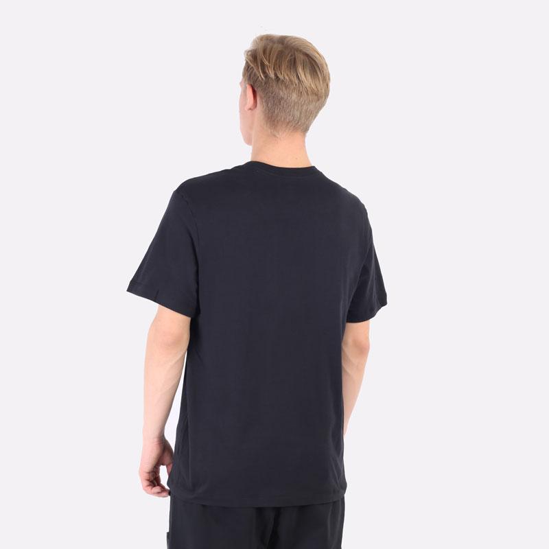 мужская черная футболка Jordan Jumpman Short-Sleeve T-Shirt DC7485-010 - цена, описание, фото 3