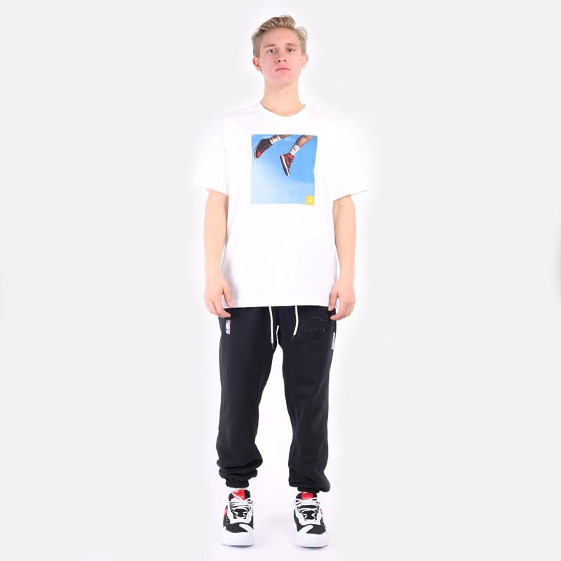 мужская белая футболка Jordan Jumpman Photo T-Shirt DA9894-100 - цена, описание, фото 3