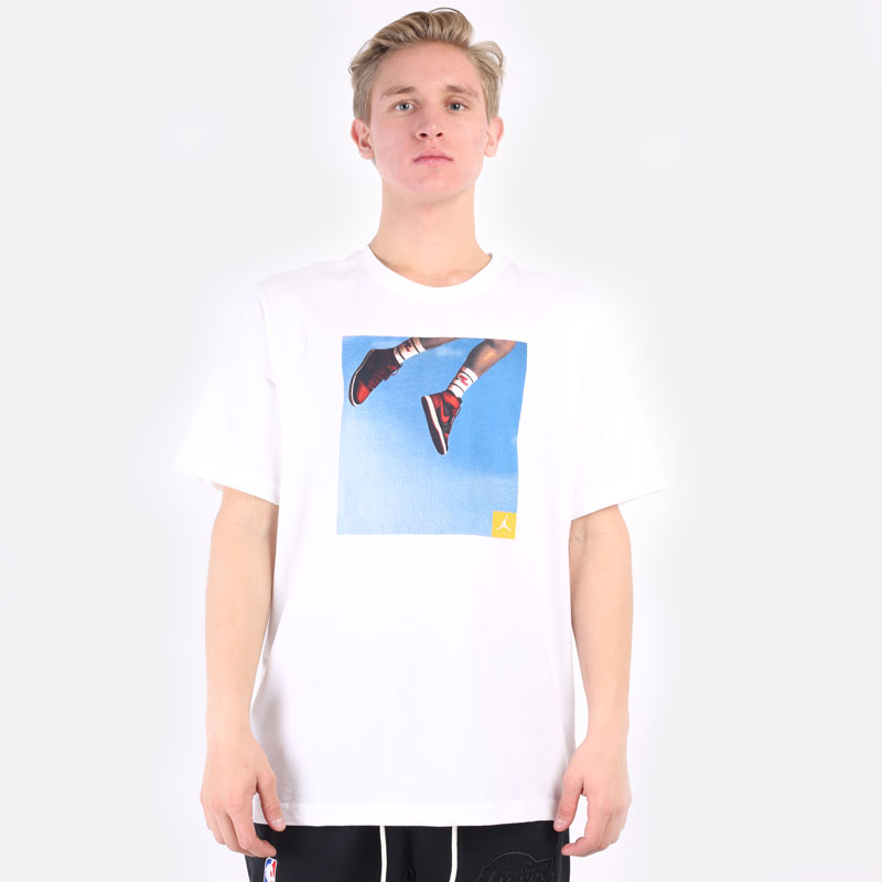 мужская белая футболка Jordan Jumpman Photo T-Shirt DA9894-100 - цена, описание, фото 6