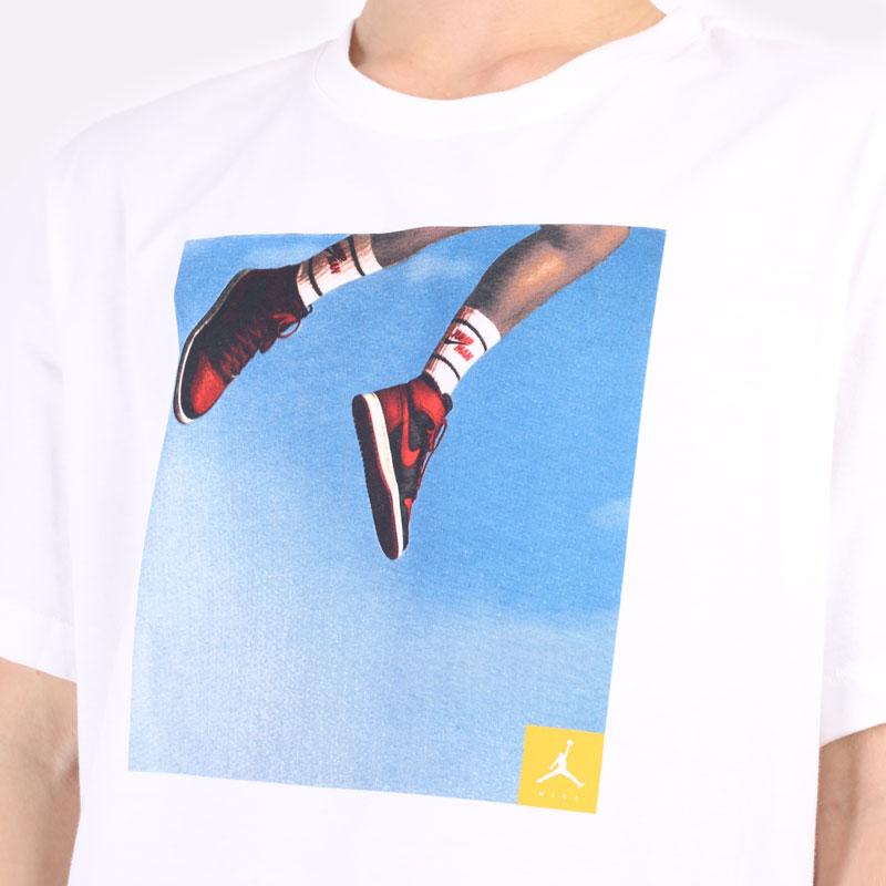 мужская белая футболка Jordan Jumpman Photo T-Shirt DA9894-100 - цена, описание, фото 2