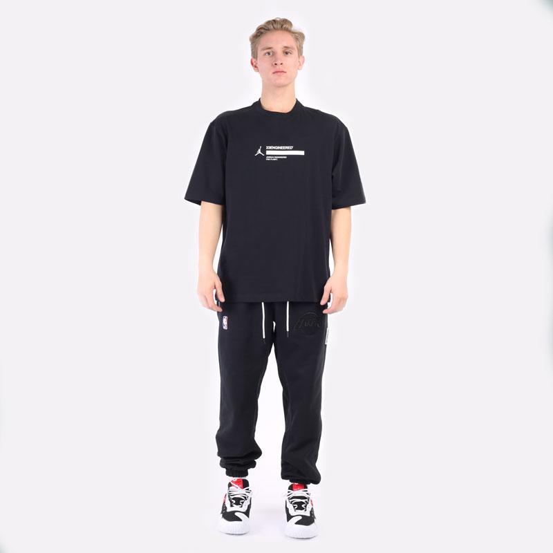 мужская черная футболка Jordan 23 Engineered Short-Sleeve T-Shirt DC9769-010 - цена, описание, фото 6