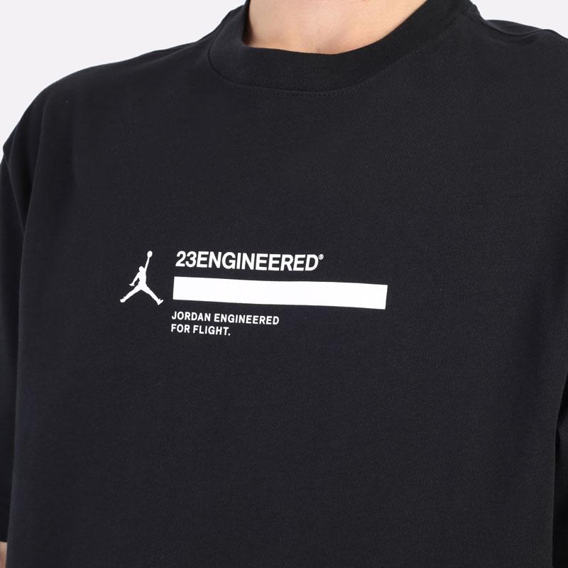 мужская черная футболка Jordan 23 Engineered Short-Sleeve T-Shirt DC9769-010 - цена, описание, фото 5