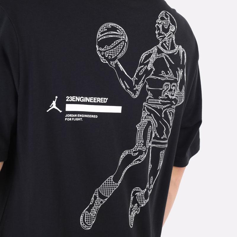 мужская черная футболка Jordan 23 Engineered Short-Sleeve T-Shirt DC9769-010 - цена, описание, фото 2