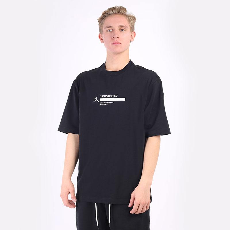мужская черная футболка Jordan 23 Engineered Short-Sleeve T-Shirt DC9769-010 - цена, описание, фото 1
