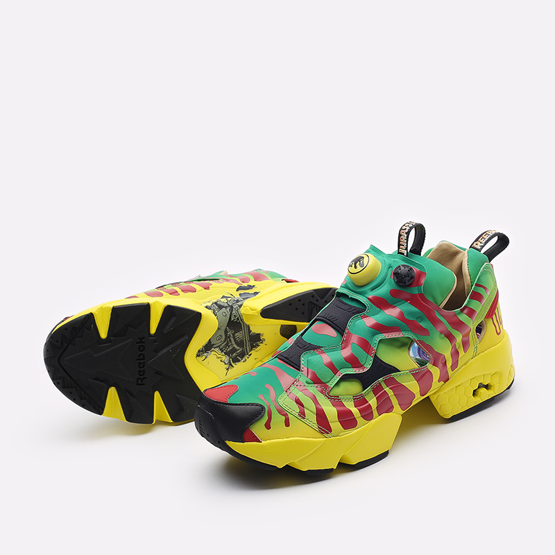 мужские желтые кроссовки Reebok Giant Attack Size Furyax GW0212 - цена, описание, фото 7