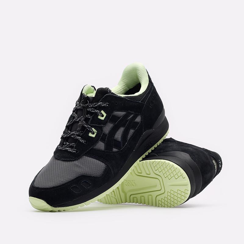 мужские черные кроссовки ASICS Gel-Lyte III OG G-TX 1203A186-001 - цена, описание, фото 2