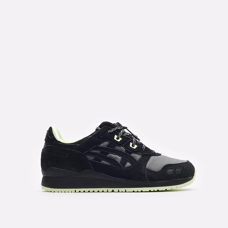 мужские черные кроссовки ASICS Gel-Lyte III OG G-TX 1203A186-001 - цена, описание, фото 1