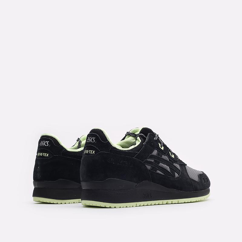 мужские черные кроссовки ASICS Gel-Lyte III OG G-TX 1203A186-001 - цена, описание, фото 3