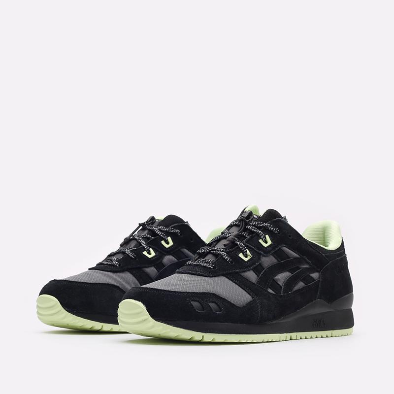 мужские черные кроссовки ASICS Gel-Lyte III OG G-TX 1203A186-001 - цена, описание, фото 4