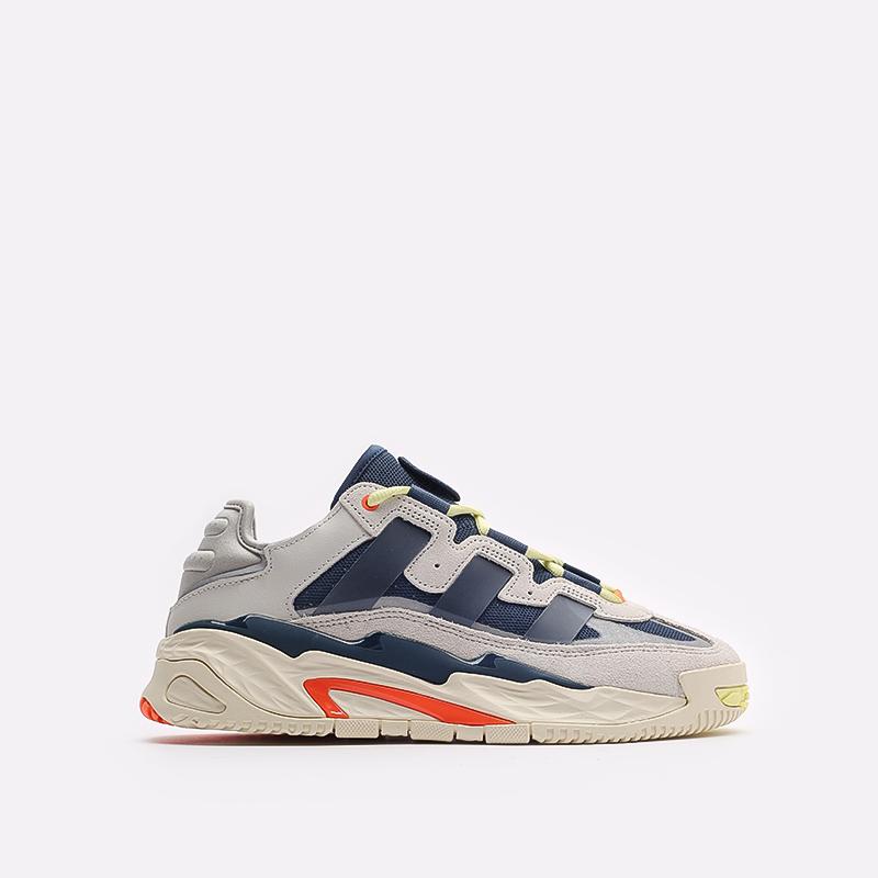 мужские бежевые кроссовки adidas Niteball S24146 - цена, описание, фото 1