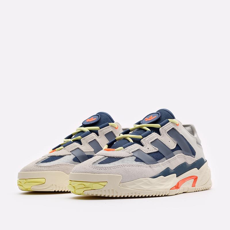 мужские бежевые кроссовки adidas Niteball S24146 - цена, описание, фото 4