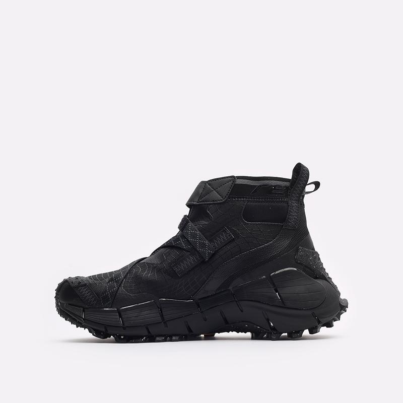 мужские черные кроссовки Reebok Zig Kinetica II Edge GTX H05172 - цена, описание, фото 2