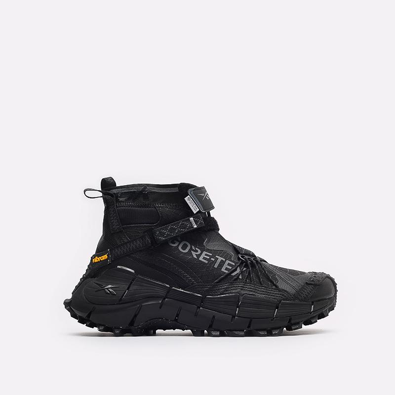 мужские черные кроссовки Reebok Zig Kinetica II Edge GTX H05172 - цена, описание, фото 1