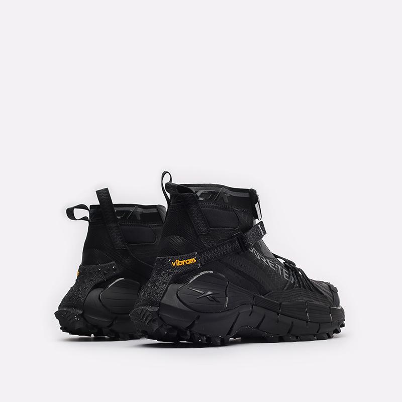 мужские черные кроссовки Reebok Zig Kinetica II Edge GTX H05172 - цена, описание, фото 3