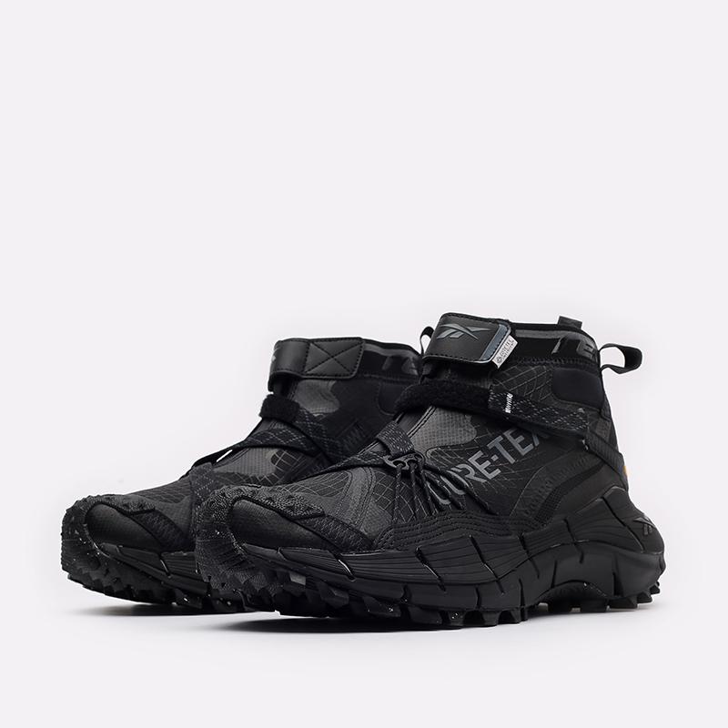 мужские черные кроссовки Reebok Zig Kinetica II Edge GTX H05172 - цена, описание, фото 4