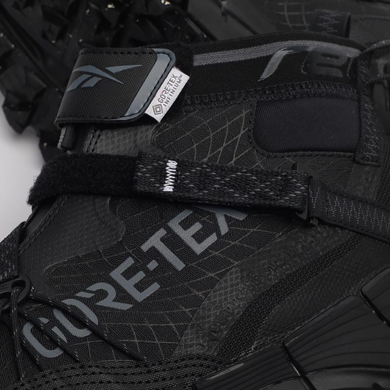 мужские черные кроссовки Reebok Zig Kinetica II Edge GTX H05172 - цена, описание, фото 6
