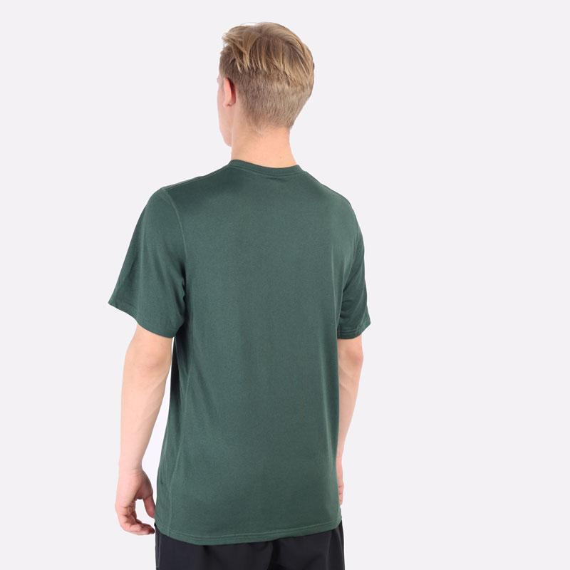 мужская зеленая футболка Nike NBA Bucks Practice Tee DA5928-323 - цена, описание, фото 3